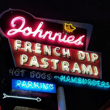 Johnnie's sign.