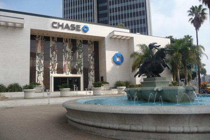 Chase Bank Hollywood Los Angeles Conservancy