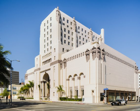 Park Plaza Hotel (Los Angeles) - Park Plaza Hotel | Los Angeles Conservancy - Rising eleven stories above Westlake Park, this grand concrete structure was a   private retreat for the Benevolent and Protective Order of Elks, which once...