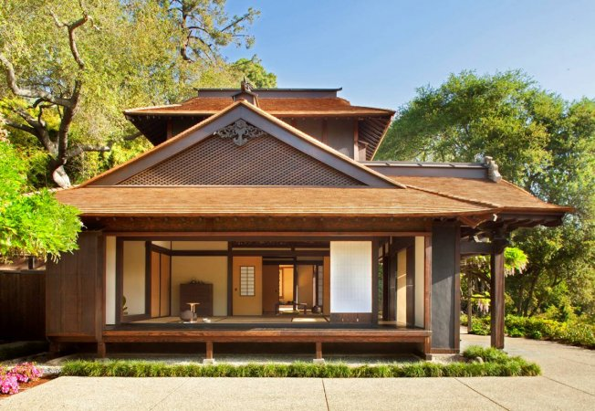 the japanese house at the huntington library art