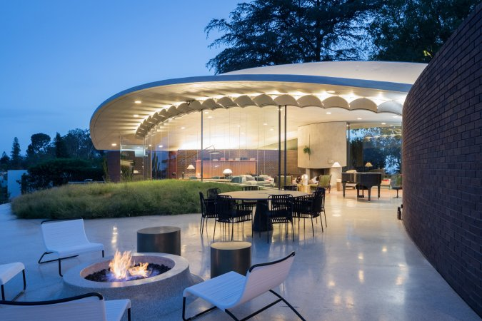 Reiner Burchill Residence Silvertop Los Angeles Conservancy - Two-storey-single-family-residence-by-baan-design
