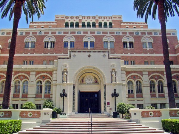 University of Southern California NonModern Buildings Los