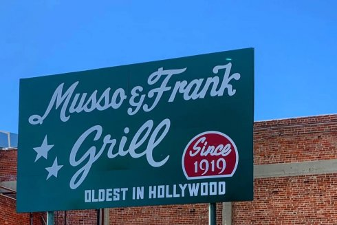 Musso & Frank Grill. Photo from L.A. Conservancy archives.