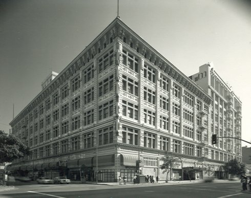 Hamburgers/May Company Department Store