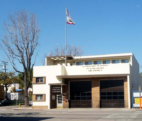 LAFD Fire Engine Company No  30 | Los Angeles Conservancy