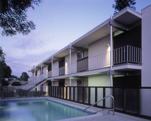 The Poster Neutra apartments by Richard Neutra